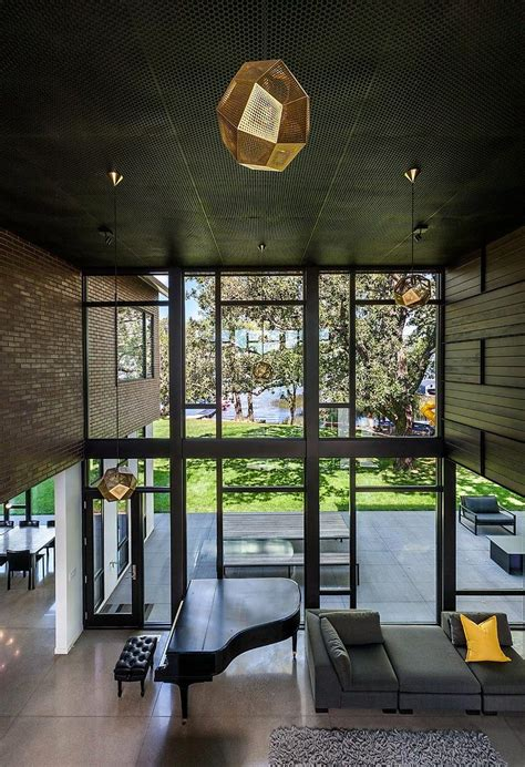 industrial modern house designed  promote  outdoors