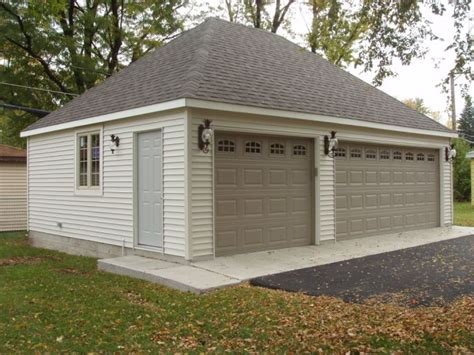 hip roof carport plans style exle of 2 car detached garage with hip roof garages