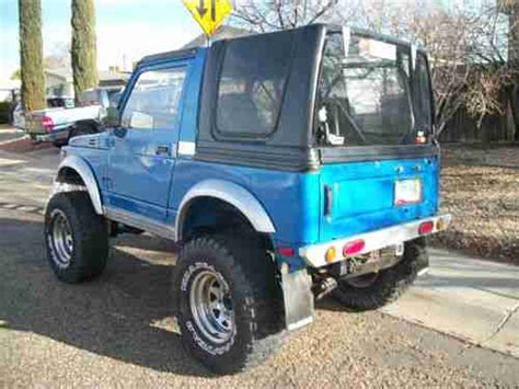 Suzuki Samurai Gears by Sell Used 1992 Suzuki Samurai 4x4 Beautiful Arizona Desert