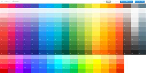 hex color chooser material ui colors color chooser jason and