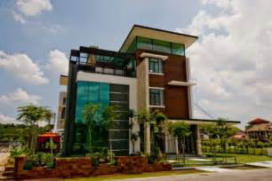 3 story building malaysia architecture modern home construction in kuala lumpur