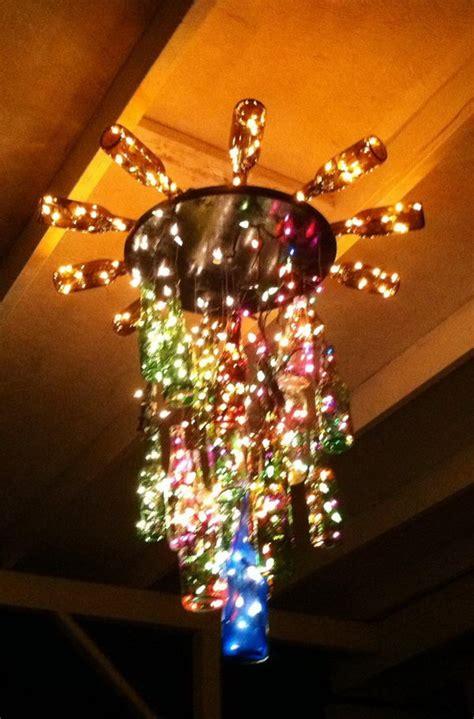 wine bottle chandelier 25 creative wine bottle chandelier ideas hative