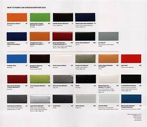 Paint Chips 2013 Ford Focus