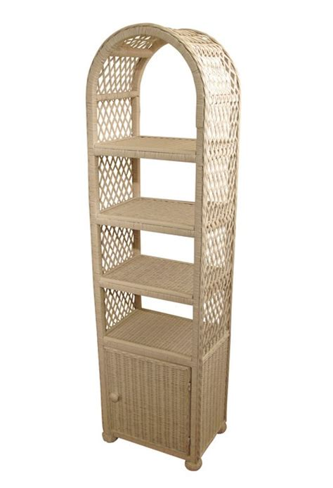 Rattan Etagere by Wicker Etagere With Door Wicker Paradise