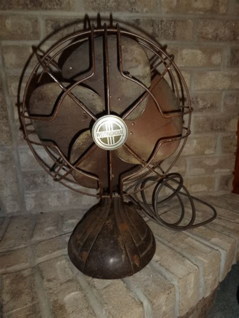 vintage fans for sale antique vintage westinghouse oscillating electric fan for