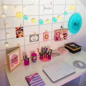 Pinnwand Selbst Gestalten : schreibtisch und arbeitszimmer einrichten deko ideen ~ Lizthompson.info Haus und Dekorationen