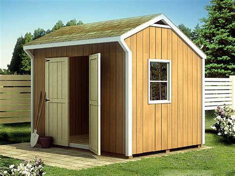 salt box shed plan