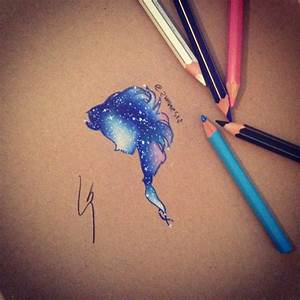 How to draw Galaxy Elsa ( let it go - Demi Lovato ) - YouTube