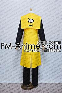 Gravity Falls Shipping Chart Gravity Falls Bill Cipher Human Cosplay Costume