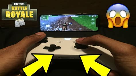 controller  fortnite androidupdated