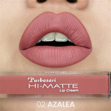 jual lipstik purbasari hi matte lip azalea