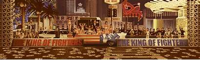 King Fighters 2001 Stage Usa Snk Animated