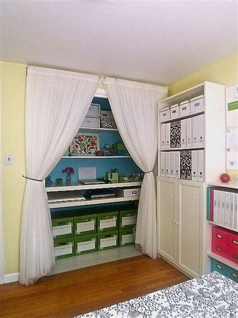 Turning A Closet Into An Office by Turn A Closet Or Cupboard Into A Workstation