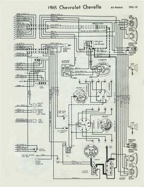 1965 Chevy El Camino Wiring Diagram by Help Need Wiring Diagram For 65 Chevy Malibu Chevelle Tech