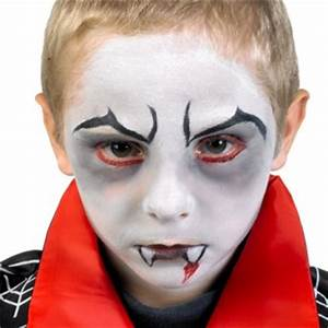 Maquillage Halloween Garcon : maquillage simple halloween enfant maquillage simple de ~ Melissatoandfro.com Idées de Décoration