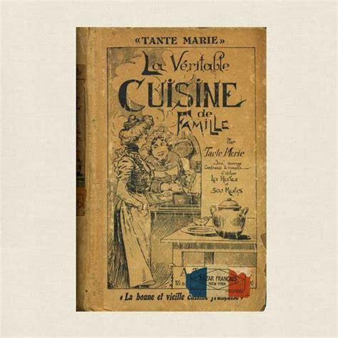 cuisine de famille tante la veritable cuisine de famille language cookbook cookbook