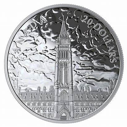 Coin Lights Parliament Canadian Hill Oz Canada