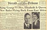 1952: King George VI Dies, Elizabeth Is Queen - The New ...