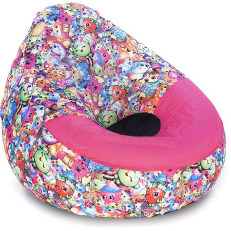 shopkins chillout air chair attractive bean bag chair big