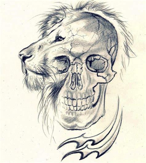 lion skull tattoo lion skull aquarius  cleicha tattoos pinterest lion skulls  art