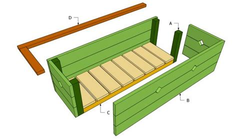 diy wood plans planter box  plans uk usa nz ca wood projects pinterest wood planter