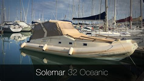 Gommoni Cabinati Solemar by Solemar 32 Oceanic Gommone Usato In Vendita Cantiere