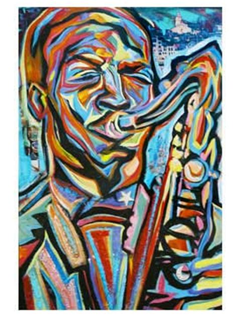 smooth jazz artwork painting new orleans jazz