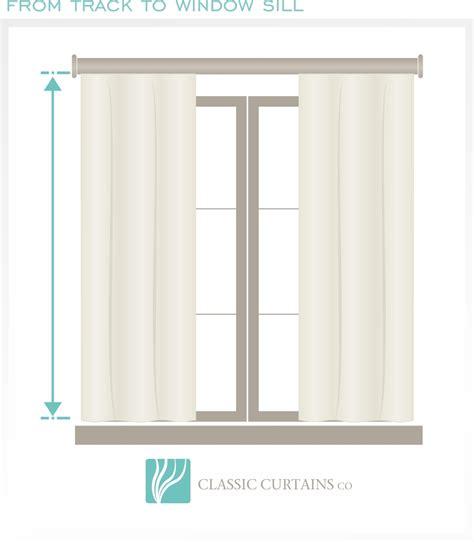 how to measure contemporary classic curtains custom made