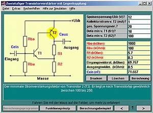 Transistor Berechnen : 36 20 elektronikberechnungsprogramme zum download andere amateurfunksoftware forum der dl ~ Themetempest.com Abrechnung
