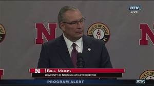 Nebraska AD Bill Moos on Scott Frost - YouTube