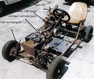 Karting A Moteur : fabriquer un kart avec un moteur de tron onneuse et un ~ Melissatoandfro.com Idées de Décoration