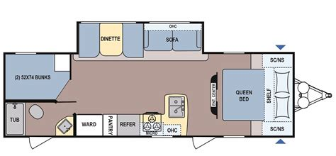 Coleman Travel Trailers Floor Plans by 2017 Coleman Coleman Light 2855bh Cing World Of