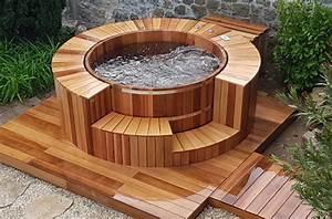 Spa Extérieur Bois : spa bois red cedar hestia c t bois ~ Premium-room.com Idées de Décoration
