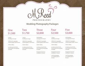 Wedding photography packages for Wedding photography packaging ideas