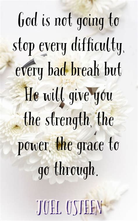 powerful joel osteen quotes  strength hope