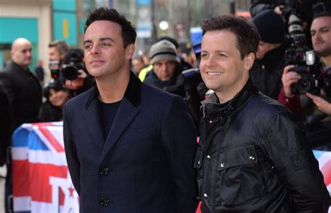 Ant McPartlin is returning to work with Declan Donnelly at ...