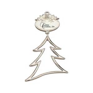 christmas tree with silver ornaments personalized christmas tree ornaments silver tree
