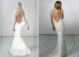 5 robes de mariee au dos nu plongeant oui je le veux With robe de mariée dos nu plongeant
