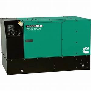 Cummins Onan Quiet Series Diesel Rv Generator  U2014 10 Kw