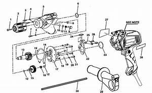 Craftsman Model 315101370 Drill Hammer Genuine Parts