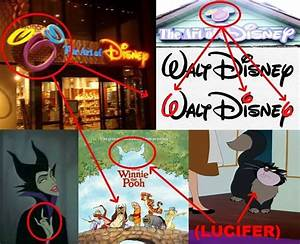 .Just like Walt Disney's famous Subliminal (666) Signature ...
