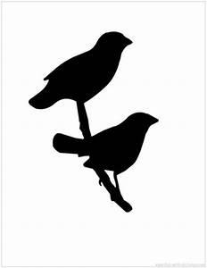 Bird Silhouette printable / birds - Juxtapost