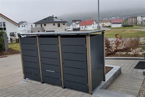 Mülltonnenbox Von Gero Metall