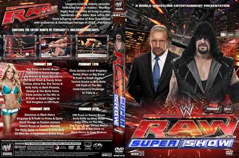 Wwe Raw February 2012 Dvd Cover By Chirantha On Deviantart
