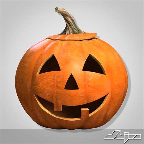 Halloween Pumpkin Head Smile 3ds