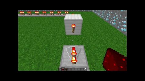 how to make a redstone l flash minecraft youtube