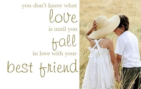 Falling In Love With Your Best Friend Quotes Quotesgram