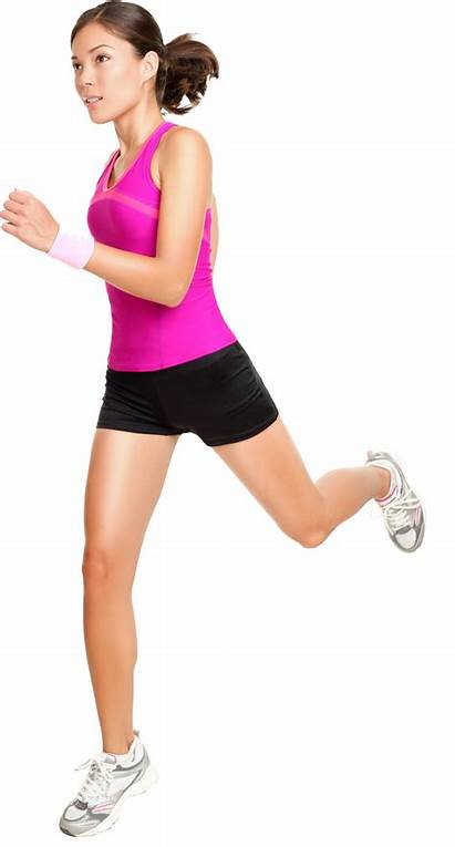 Running Jogging Woman Person Transparent Excercise Pluspng