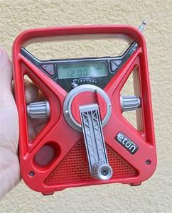 Eton Emergency Weather Radio Offers Manual Recharge Option