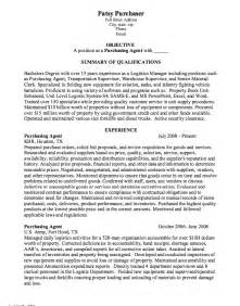 purchasing manager resume sle resume for purchasing coordinator